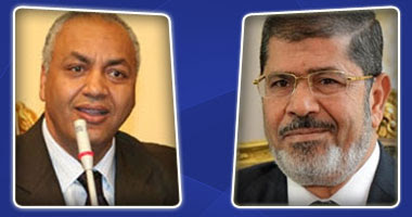 د.محمد مرسى ومصطفى بكرى