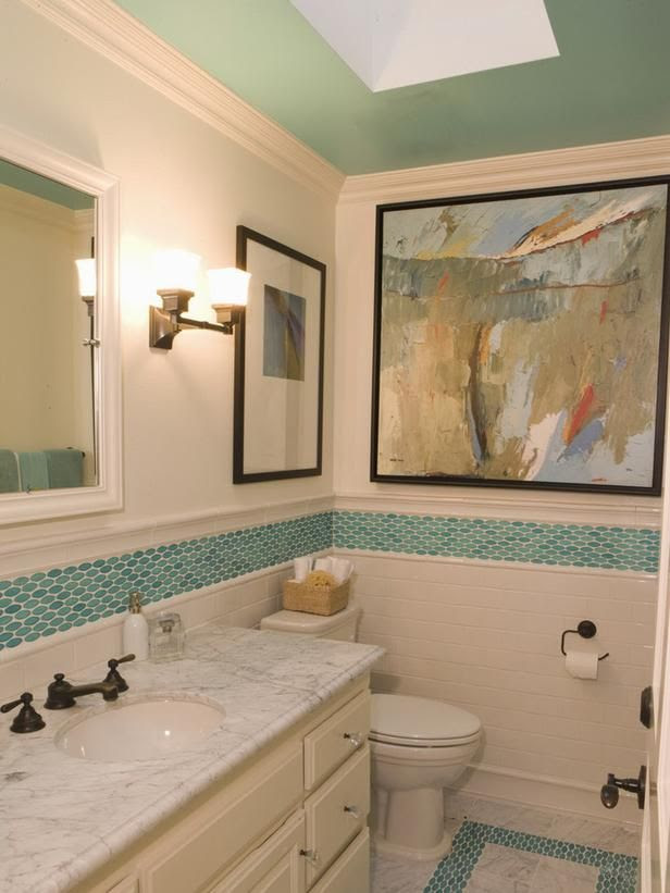 40 Blue Mosaic Bathroom Tiles Ideas And Pictures