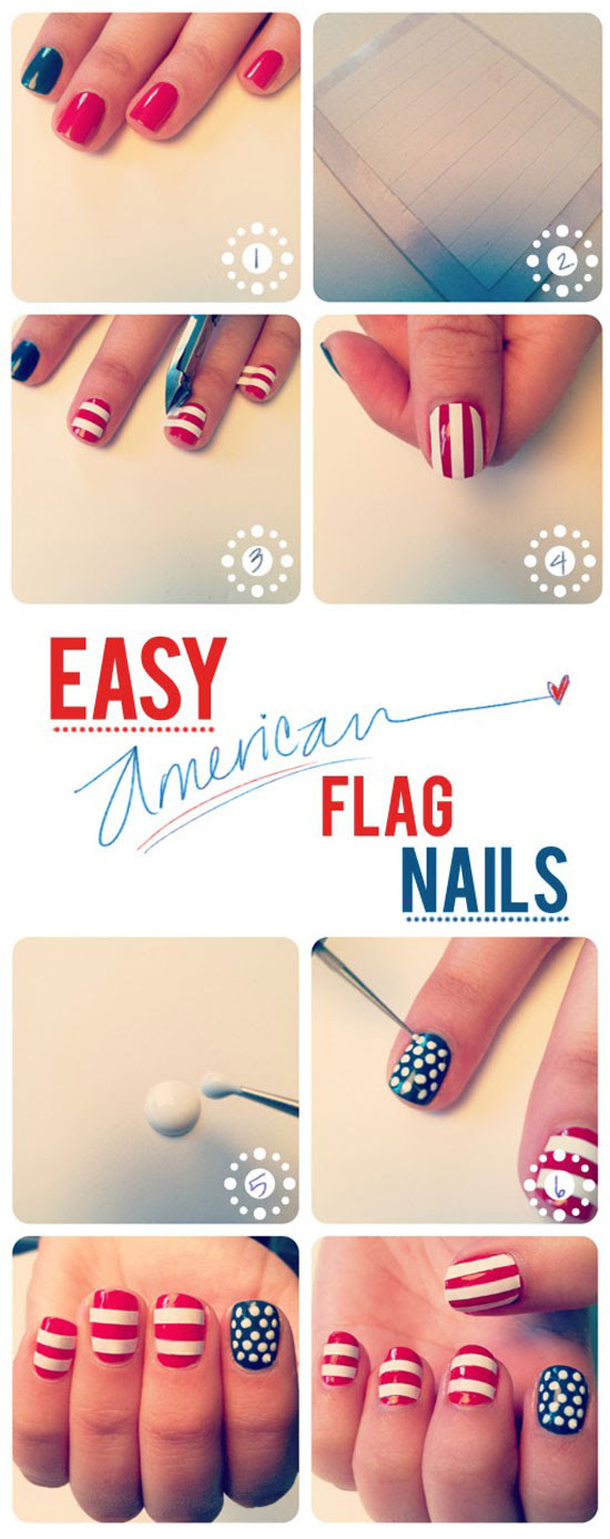 25 easy but fun nail art tutorials for beginners