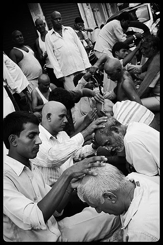 Barbers At Banganga by firoze shakir photographerno1