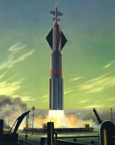 1964 ...green dawn lift-off! by x-ray delta one