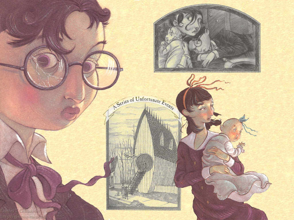 Lemony Snicket Art A Series Of Unfortunate Events Wallpaper