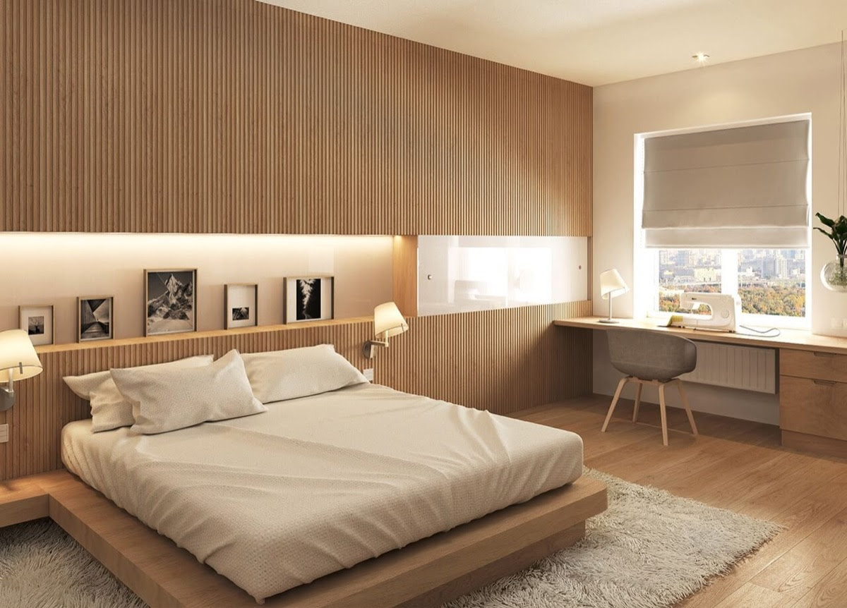 25 Beautiful Examples Of Bedroom Accent Walls That Use ...