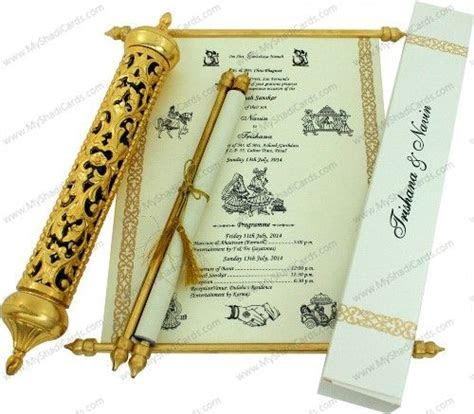 We manufacture customized wedding cards as per your