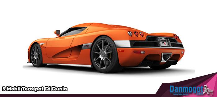 5 Mobil Tercepat Di Dunia
