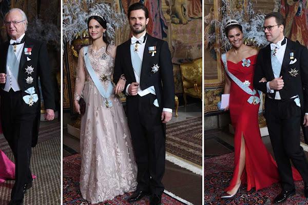 c75d96288d43 Victoria hyllar Lilian – dessa smycken bär Silvia, Victoria och Sofia!