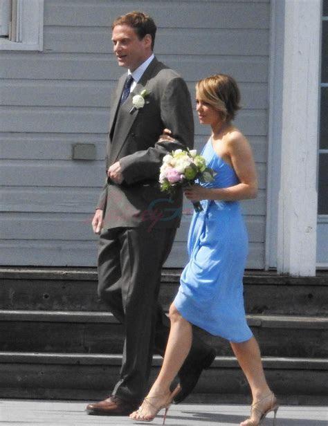 Rachel McAdams at her sister's wedding in Ontario Lainey