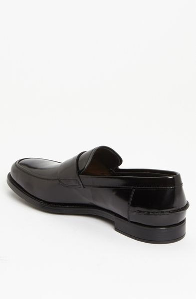 Prada Penny Loafer in Black for Men (nero) | Lyst
