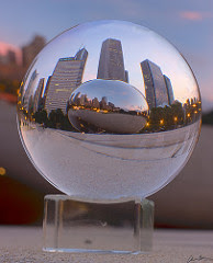 Bean crystal ball small