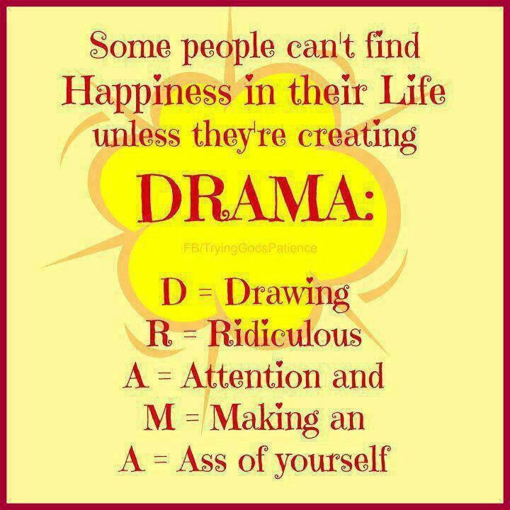 Quotes About Stupid Drama 11 Quotes