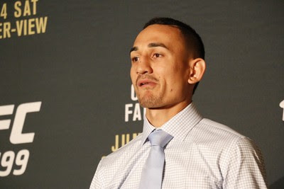 Max Holloway; UFC 199 (Foto: Evelyn Rodrigues)