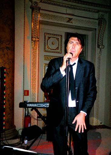 Concert Brian Ferry chez Chloé