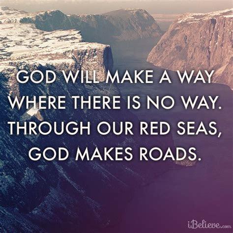 God Will Make Way Quotes