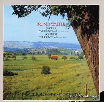 WALTER, BRUNO dvorak; symphony no.8 in g major, op.88