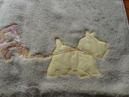 perro toalla maria