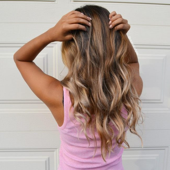 One Step To Own Your Unique Red Ombre Hair Color Vpfashion Red Highlights For Black Straight Hair Hairstyle Review