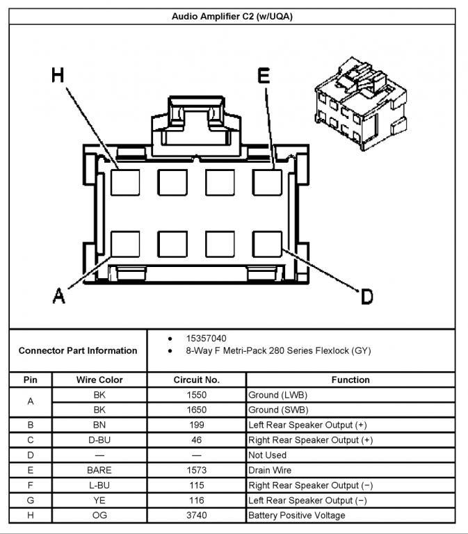 2004 Chevy Silverado Stereo Wiring Diagram