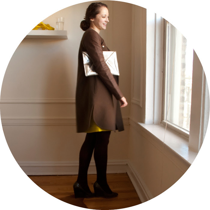 new coat!, dash dot dotty, vince leather-sleeve coat, brown leather, fancy christmas coat, brown and neon green, old navy dress, the high and the low, mix it up, work outfits
