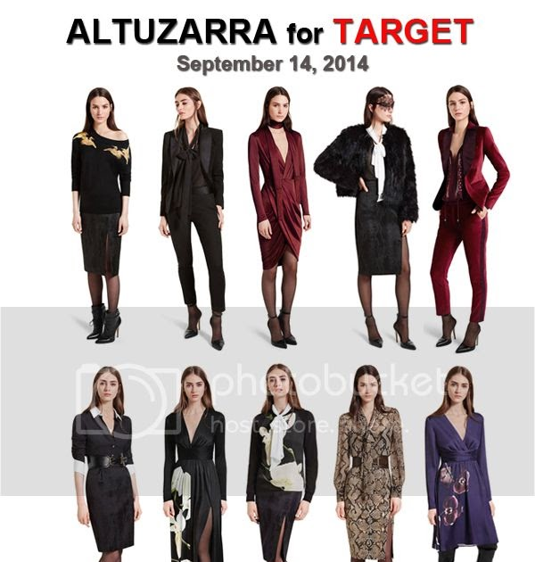 Fashion Trend Guide See The Altuzarra For Target Lookbook
