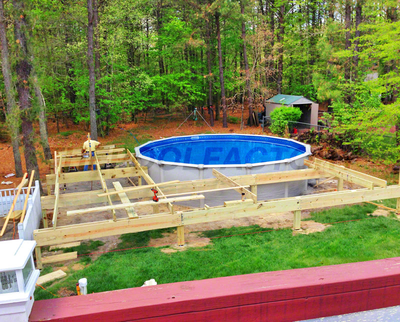 above ground pools 240