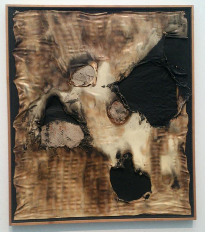 Destroy The Picture at MCA Chicago - Alberto Burri