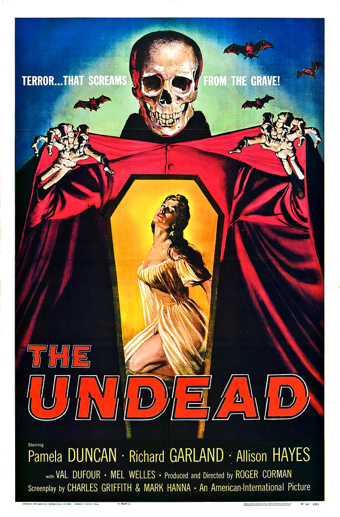 Albert Kallis - The Undead (American International, 1957) One Sheet