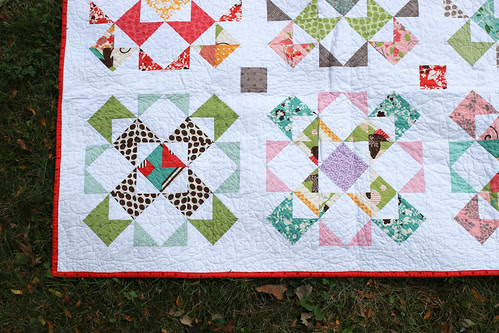 Stacked Windmills Quilt by Jeni Baker
