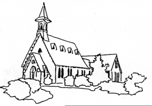 Church Line Drawing Free Images At Clker Com Vector Clip Art