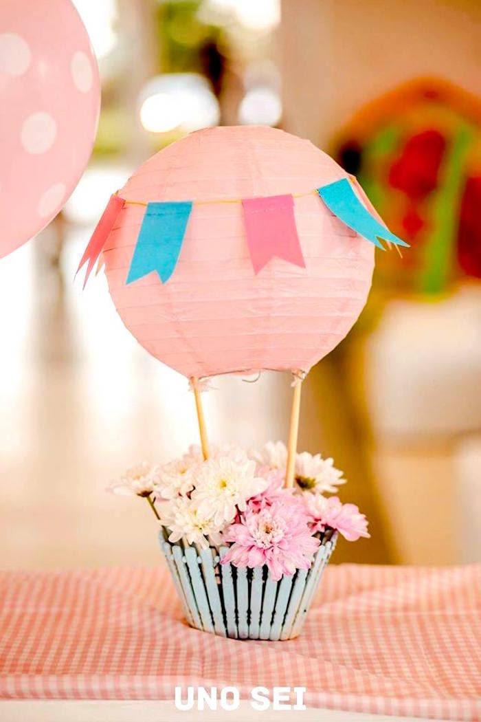 Karas Party Ideas Shabby Chic Hot Air Balloon Party Karas Party
