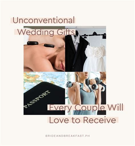 Unconventional Wedding Gifts   Philippines Wedding Blog
