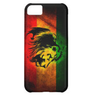 Cori Reith Rasta reggae lion iPhone 5C Cover