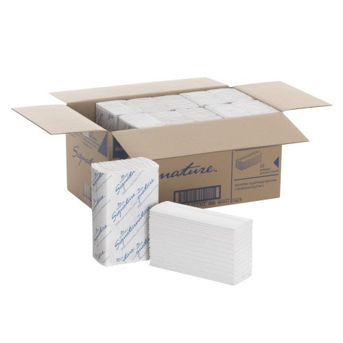 "Review Of Georgia-Pacific Signature 23000 White 2-Ply Premium C-Fold Paper Towel, 13.2"" Length x 10.1"" Width (Case of 12 Packs, 120 per Pack)"