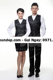đồng phục lễ tân khách sạn new world