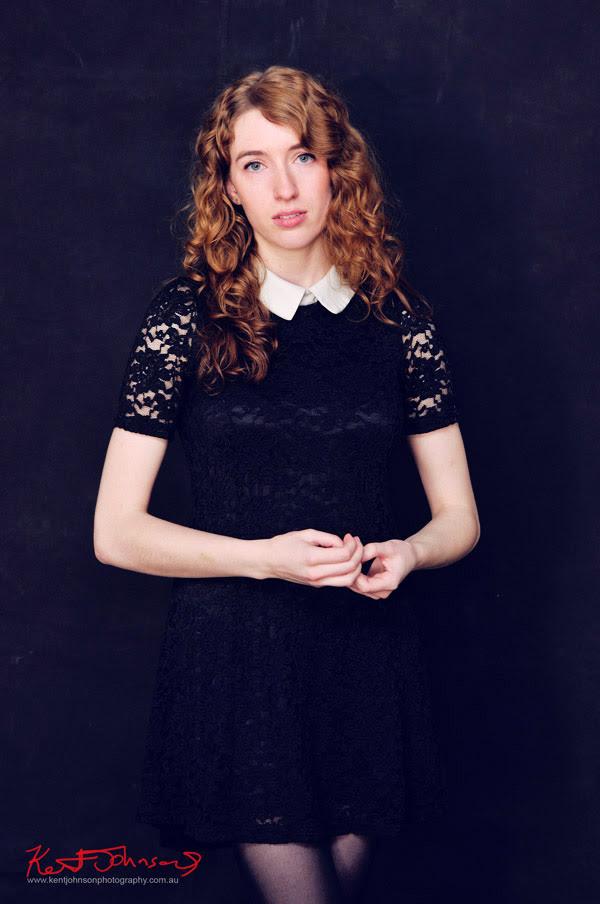 Bec, Two Sisters - Natural Beauty Studio Portrait