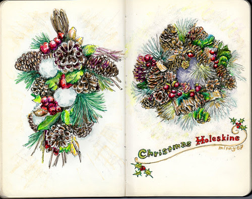 Christmas Moleskine