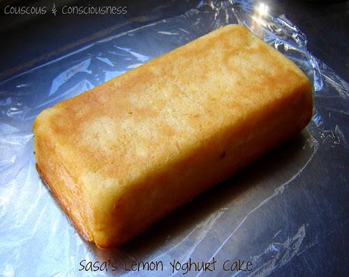 Lemon Yoghurt Cake 1