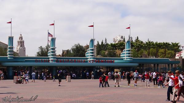Disneyland Resort, Disney California Adventure, Entrance