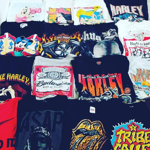 We've got such a good selection of #thrashedtohell tees that will be hitting our site later next week! #comingsoon #sameoldchic