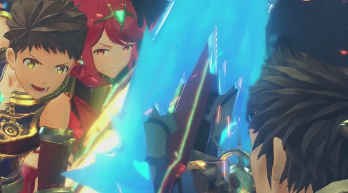 Xenoblade Chronicles 2 gets a new trailer, out this 'Holiday' screenshot