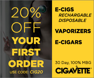 CIGAVETTE Premium Electronic Vapor Devices