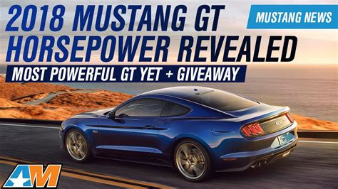 ford mustang gt ecoboost horsepower torque