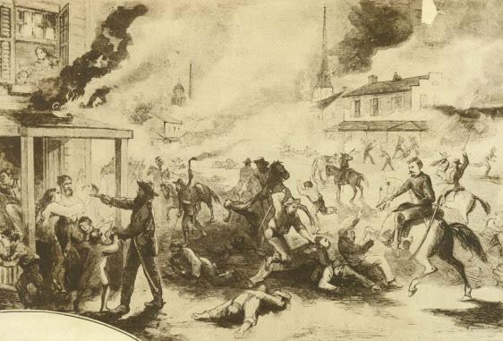 O ataque a Lawrence
