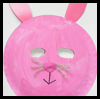 Máscaras Bunny: Máscaras para para niños