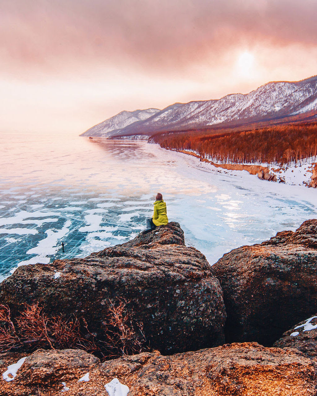 A beleza do lago mais profundo e antigo da Terra: o Baikal 15