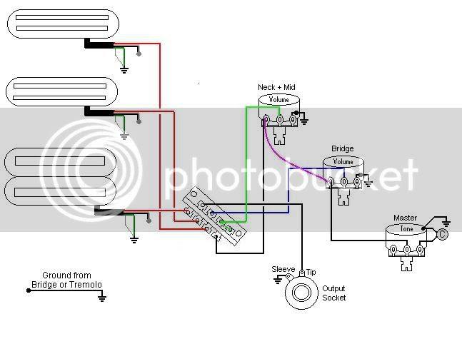 Washburn Guitar Wiring Diagram