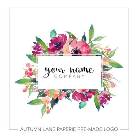 13 best wedding card images on Pinterest   Floral logo