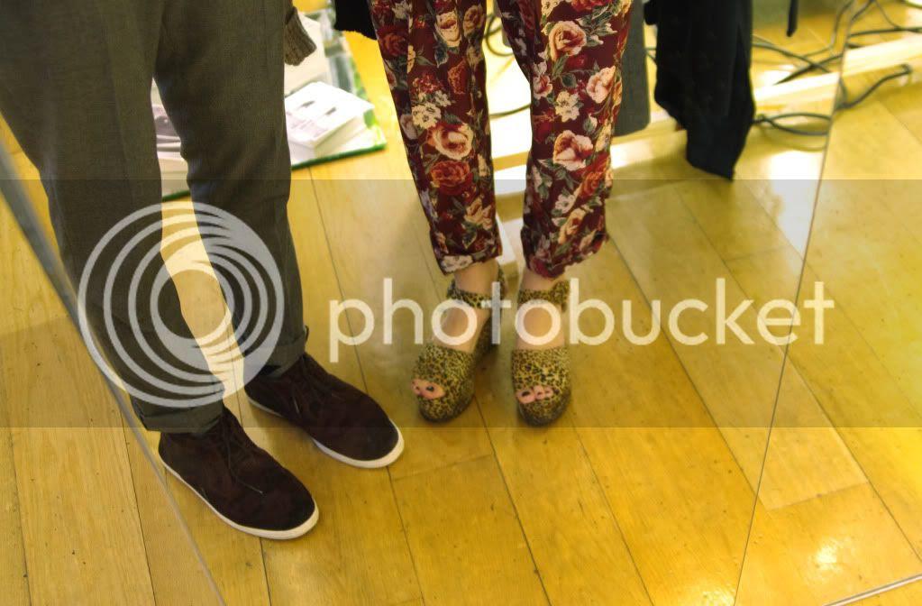 London Fashion Week 2012 A/W; LFW; Blog photos; Fashion Week Exhibition