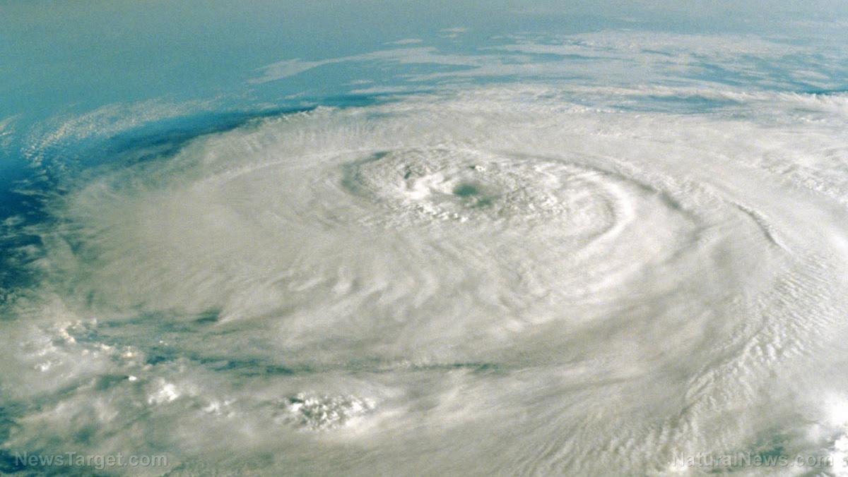 "Image: ""Weather wars"" theorists claim Hurricane Harvey was engineered, ""steered"" toward Houston as a ""weather terrorism"" weapon"