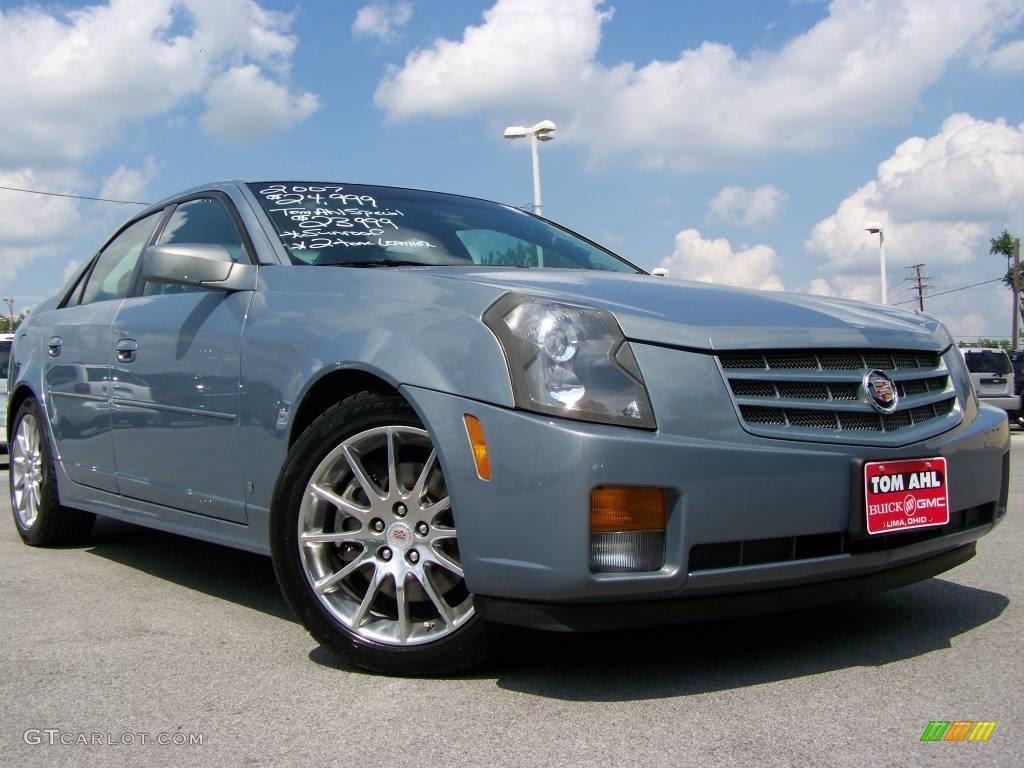 2007 Sunset Blue Cadillac CTS Sport Sedan #15959230 ...
