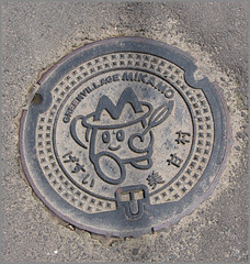 044 manhole of Mikamo